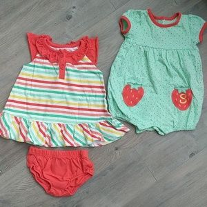 Other - Dress and romper set